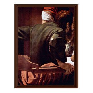 By Michelangelo Merisi Da Caravaggio Postcard