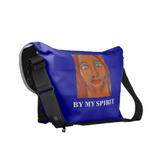 BY MY SPIRIT MESSENGER BAGS