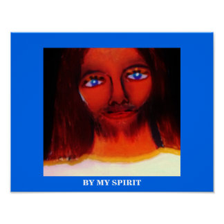 BY MY SPIRIT POSTER
