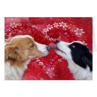 By My Valentine ! Greeting Card