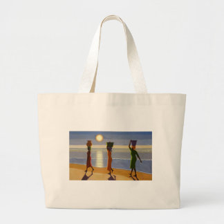 By the Beach 2007 Large Tote Bag