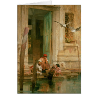 By the Canal, Venice Card