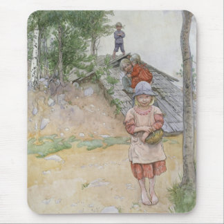 By the Cellar by Carl Larsson Mouse Pad