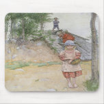 By the Cellar by Carl Larsson Mousepads