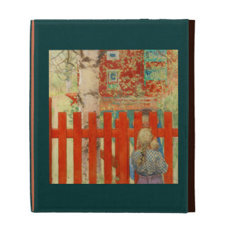 By the Fence iPad Folio Cover