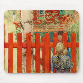 By the Fence Mouse Mat