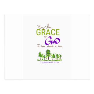 By the Grace of God I am what I am Postcard