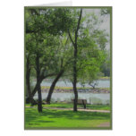 By The Lake Photograph Greeting Card
