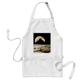 By the light of the sepia moon standard apron