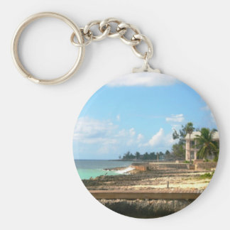 By The Ocean Key Ring