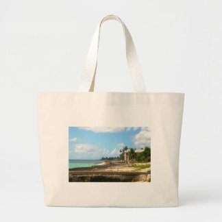 By The Ocean Large Tote Bag