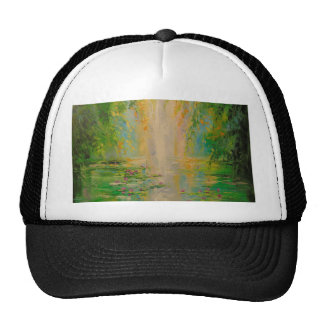 By the pond cap