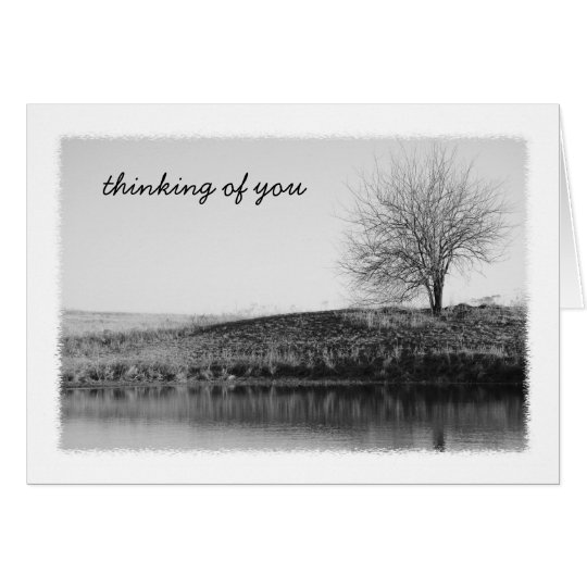 By the Pond Greeting Card
