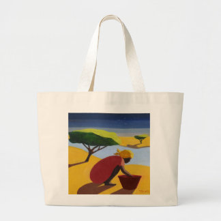 By the River 2007 Large Tote Bag