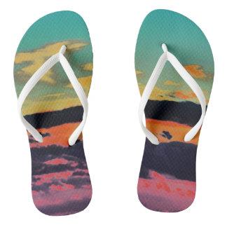 """By The Sea"" Beach Sandals Flip Flops"