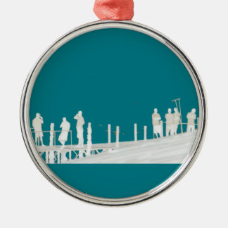 By the sea christmas ornament
