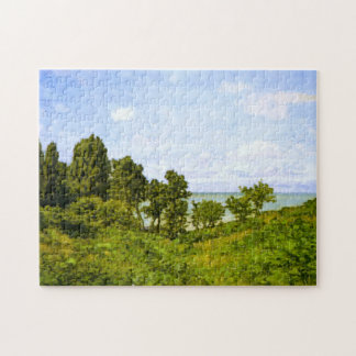 By the Sea Monet Fine Art Puzzle
