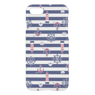 By The Sea Pattern iPhone 8/7 Case