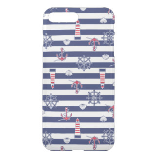 By The Sea Pattern iPhone 8 Plus/7 Plus Case
