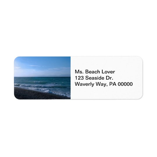 By the Sea Return Address Labels