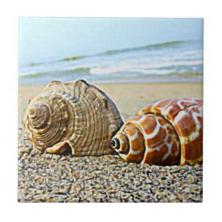 By the Sea...tile Small Square Tile