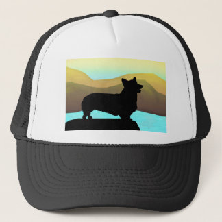 By The Sea Welsh Corgi Trucker Hat