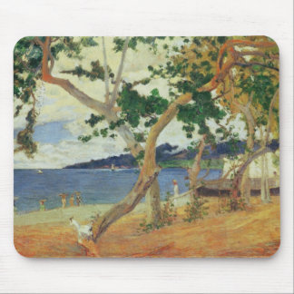 By the Seashore, Martinique, 1887 (oil on canvas) Mouse Mat
