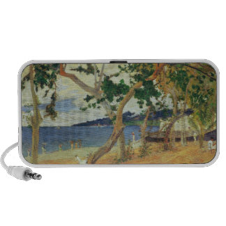 By the Seashore, Martinique, 1887 (oil on canvas) iPhone Speakers