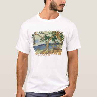 By the Seashore, Martinique, 1887 (oil on canvas) T-Shirt