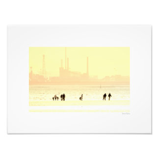 """By the Seaside 16""""x12"""" Photo Print"""
