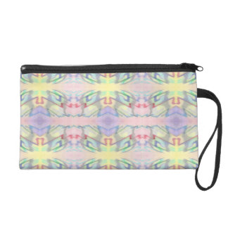 By the Seaside Colorfully Patterned Accessory Bag