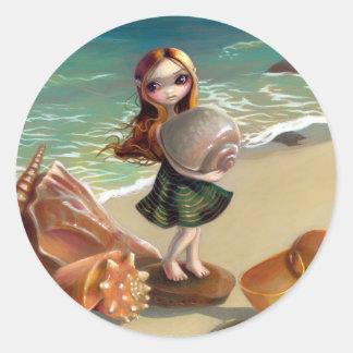 """""""By the Seaside"""" Sticker"""