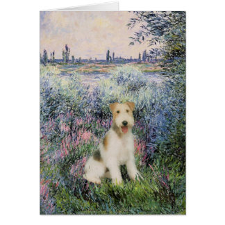 By the Seind - Wire Fox Terrier (M) Card