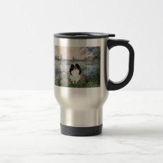 By the Seine - Japanese Chin 3 Mug