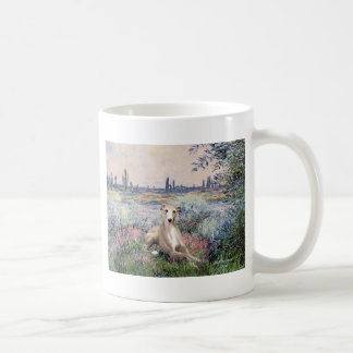 By the Seine - Whippet #2 Coffee Mug