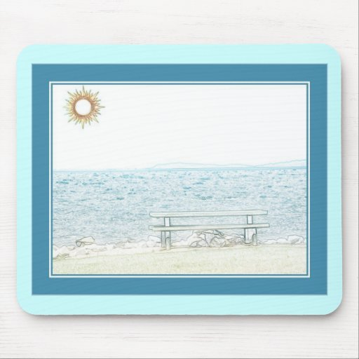 By The Shore Mouse Mats