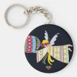 By the Wings of an Angel Ukrainian Folk Art Key Chains