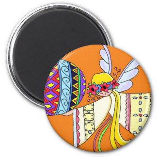 By the Wings of an Angel Ukrainian Folk Art Magnet