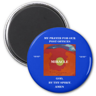 BY THY SPIRIT - MIRACLE - 1118 6 CM ROUND MAGNET