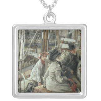 By Water, c.1881-2 Silver Plated Necklace