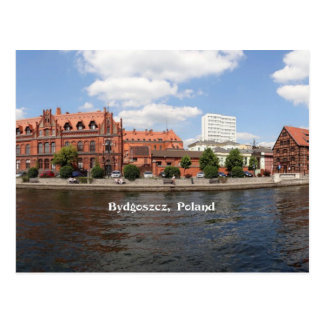 Bydgoszcz, Poland cityscape photograph Postcard