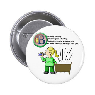 Bye Baby Bunting 6 Cm Round Badge