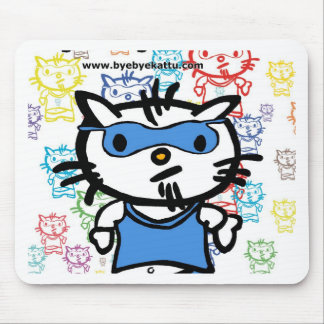 Bye Bye Kattu fonfo Mousepad
