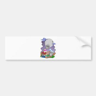 Bye Bye Kitty Bumper Sticker