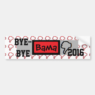 Bye-bye Obama Bumper Sticker