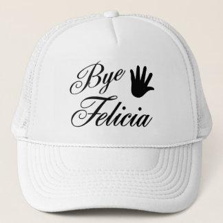 Bye Felicia Fancy Waving Hand Trucker Hat