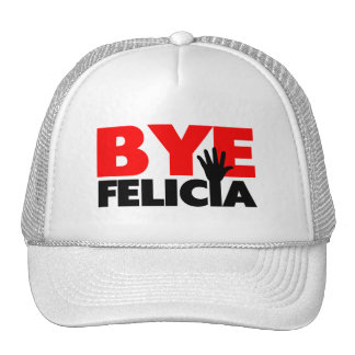 Bye Felicia Hand Wave Mesh Hat