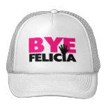 Bye Felicia Hand Wave Hot Pink Cap