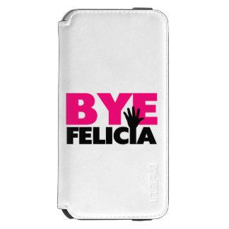 Bye Felicia Hand Wave Hot Pink Incipio Watson™ iPhone 6 Wallet Case