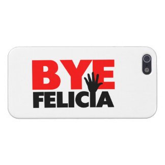Bye Felicia Hand Wave iPhone 5/5S Covers